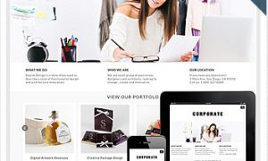 corporate-theme-wordpress