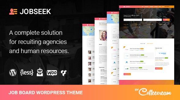 jobseek job board wordpress theme v2 7