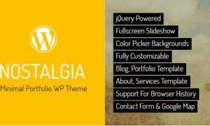 nostalgia-responsive-portfolio-wordpress-theme