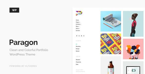 paragon-colorful-portfolio-for-freelancers-agencies